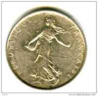 5 Francs  SEMEUSE 1967 Cinqième République En Argent - J. 5 Francs
