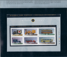 6 STAMPS Historic Land Vehicles Public Service Vehicles CANADA