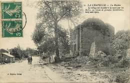 Guerre 1914-18 -ref L276- La Chapelle -la Mairie - Editeur A Suzaine -sedan -ardennes - Carte Bon Etat  - - Andere Gemeenten