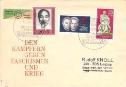 R DDR Michel# 1602-1604 MiF Echt Gelaufen - DDR