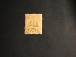 TURKS - 1900 VELIERO  4 P. - TIMBRATO/USED - Turks And Caicos