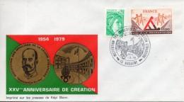 France. Enveloppe. Cachet. Institution Des Invalides De La Legion Etrangere. Aubagne. 1979 - Storia Postale