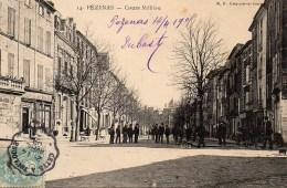 34 PEZENAS  Cours Molière - Pezenas