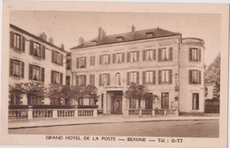 BEAUNE - GRAND HOTEL DE LA POSTE - Beaune
