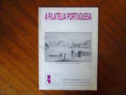 A Filatelia Portuguesa Agosto 1991 Portugal Moçambique PALOP Mozambique - Revistas