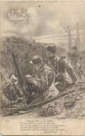 Guerre 1914-18 -ref L258- Illustrateur P Janin - La Lettre  - Carte Bon Etat - - Montenegro
