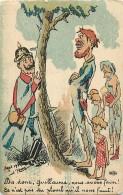 Guerre 1914-18 -ref L257- Illustrateur D Amy -caricature- Satirique Guillaume 2 Le Kaiser -la Faim  - Carte Bon Etat - - Montenegro