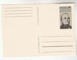 1968 POLAND Postal STATIONERY Card 150th BIRTHDAY Stanislaw MONIUSZKO Music Opera  Cover Stamps - Music
