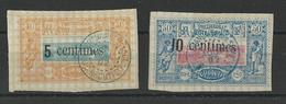 COTE DES SOMALIS - YVERT N°28/29 OBLITERES - COTE = 41 EURO - - Used Stamps