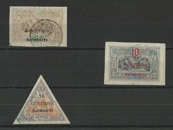 COTE DES SOMALIS - YVERT N°30/32 OBLITERES - COTE = 111 EURO - - Used Stamps
