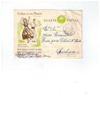 Entier Postal Du Portugal - Vira De Carreco 30/09/1958 (Douro Ll) - Marcophilie