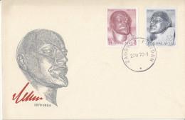 Yugoslavia Lenin FDC 1970 Bb161011