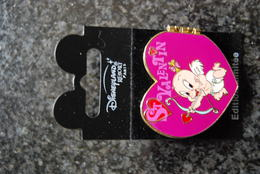 DLRP - St. Valentin (Baby Herman / Roger And Jessica Rabbit)          Limited Edition 900 Ex. - Disney