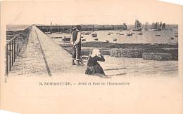¤¤  -   24   -  ILE-de-NOIRMOUTIER   -   Jetée Et Port De L'HERBAUDIERE   -  ¤¤ - Ile De Noirmoutier