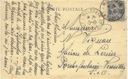1932- C P A     Affr. à 40 C Oblit. Conv. Ligne  SAVERNE A MOLSHEIM  2° - Postmark Collection (Covers)