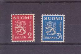 FINLANDE  N° 192/193  NEUFS AVEC CHARNIERE - Neufs