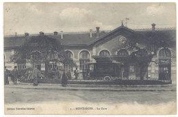 Cpa Montargis - La Gare ( Autobus )  ((S.261)) - Montargis
