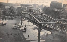 ¤¤  -    PARIS  -  752   -  Le Métro Au Rond-Point De La Villette  -  ¤¤ - Arrondissement: 19