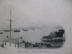 CPA 29 Finistère Brest La Rade Vue Prise Du Château - Brest