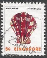 Singapore. 1977 Shells, Fish & Crustaceans. 5c Used. SG 290 - Singapore (1959-...)