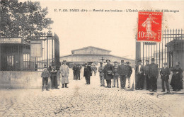 ¤¤  -    PARIS  -  858   -  Marché Aux Bestiaux  -  L'Entrée Principale , Rue D'Allemagne   -  ¤¤ - Distretto: 19