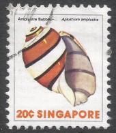 Singapore. 1977 Shells, Fish & Crustaceans. 20c Used. SG 293 - Singapore (1959-...)