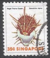 Singapore. 1977 Shells, Fish & Crustaceans. 35c Used. SG 295 - Singapore (1959-...)