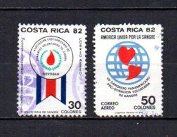 Costa Rica  1982  .-   Y&T Nº    877/878    Aéreos - Costa Rica