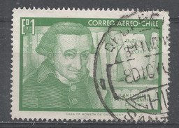 Chile 1968. Scott #C282 (U) Juan I. Molina Educator And Scientist * - Chili