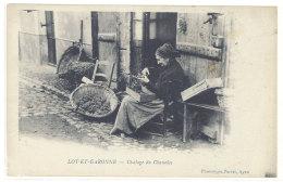 Cpa Lot Et Garonne - Ciselage Du Chasselas   ((S.270)) - France