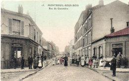 MONTREUIL SOUS BOIS - Rue Du Gazometre - Commerces   (92537) - Montreuil