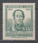 Chile 1957. Scott #QRA1 (MNH) President J.J. Prieto V. * - Chili