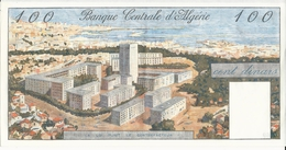 ALGERIE  - RARE BILLET DE 100 DINARS De 1/1/1964 - NEUF - PLI DE LIASSE NON MARQUE - Algérie