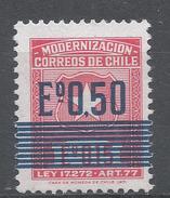 Chile 1973. Scott #RA8 (MNH) Chilean Arms * - Chili