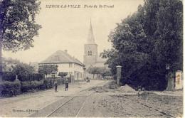 Herck-La-Ville  Herk-de-Stad Porte De St-Trond 1910 - Herk-de-Stad