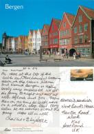 Bryggen, Bergen, Norway Postcard Posted 2009 Stamp - Noorwegen