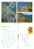 Nostra Dona De Meritxell, Andorra Postcard Posted 2001 Stamp - Andorra