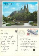 Prague Praha, Czech Republic Postcard Posted 1989 Stamp - Czech Republic