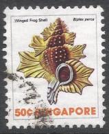 Singapore. 1977 Shells, Fish & Crustaceans. 50c Used. SG 296 - Singapore (1959-...)
