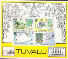 Tuvalu 1980 Stamp Exhibiton London 1980,  Mi  Bloc 4 MNH(**)