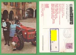 Trattori Agricoli SAME Minisauro 1969 Trento - Cartes Postales