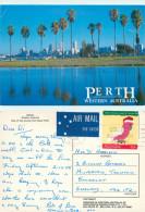 Perth, Western Australia, Australia Postcard Posted 1988 Stamp - Perth