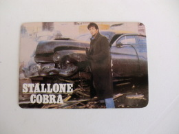 Sylvester Stallone Portugal Portuguese Pocket Calendar 1987 - Calendriers