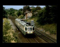 33 - Ligne BORDEAUX-PERIGUEUX  - Train - Locomotive - Omnibus - France