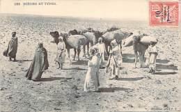 Scènes Et Types - (timbre Maroc Surcharge Protectorat Français) (chameaux) - Algeria