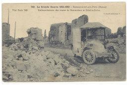 Cpa  Rembercourt Aux Pots - Embranchement Des Routes De Sommaines Et Erizé La Petite ( Renault, Ambulance )   ((S.303)) - France