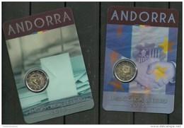 ANDORRA EUROS MONEDA 2,00€ C. MAYORIA DE EDAD 18 AÑOS MONEDA C. ACUERDO ADUANARO 2,00E€. (C.07.16) - Andorra