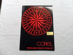 ANCIEN CATALOGUE  COREL 87-88  / MODELISMO NAVALE /  ITALIEN / 60 Pages - Kataloge
