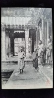 CPA  Cambodge, Angkor Vat Bonzes En Pelerinage - Cambodia