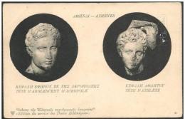 Grecia/Greece/Grèce: Intero, Stationery, Entier - Sculture Antiche, Ancient Sculptures, Sculptures Antiques, 2 Scan